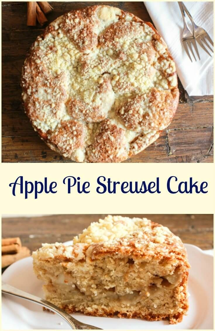 Apple Pie Streusel Cake, an easy and delicious cake, let the wonderful scent of…