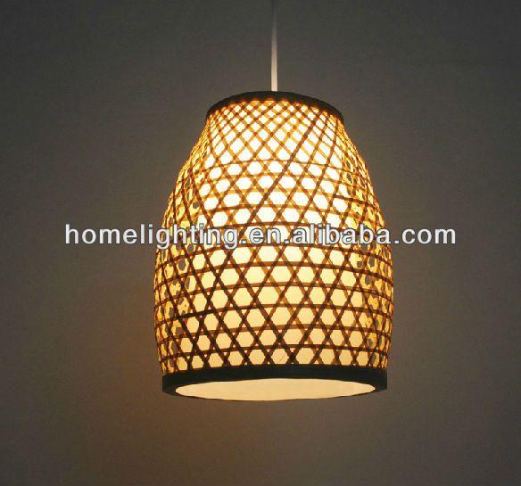 Fabrik Forderung Design Cany Bambus Lampe Schattierungen Beleuchtung
