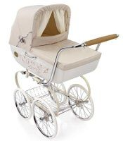 Classica 2012 Bassinet with Diaper Bag in Vanilla | Baby Strollers | Inglesina Strollers
