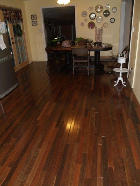 Bellawood Brazilian Walnut Select 5 16 X2 1 4 Ipe Tabebuia Spp 3680 Clear Finish Solid Hardwood Floors Ash Flooring Flooring