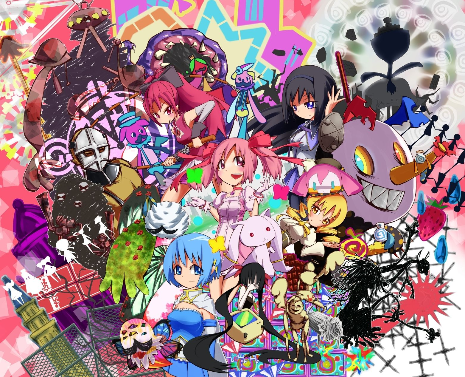 Mahou Shoujo Madoka Magica Wallpaper Madoka Magica Anime
