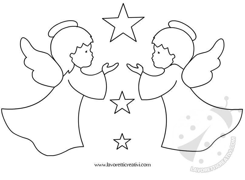 Best 12 Disegni Di Natale Colorare Angelo Con Candela Tuttodisegni Com Skillofking Com Christmas Drawing Xmas Crafts Christmas Crafts For Kids