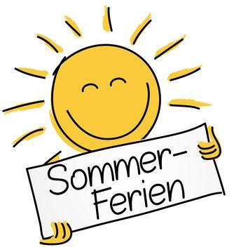 Sommerferien Smiley Urlaub Dankeschön Sprüche Und
