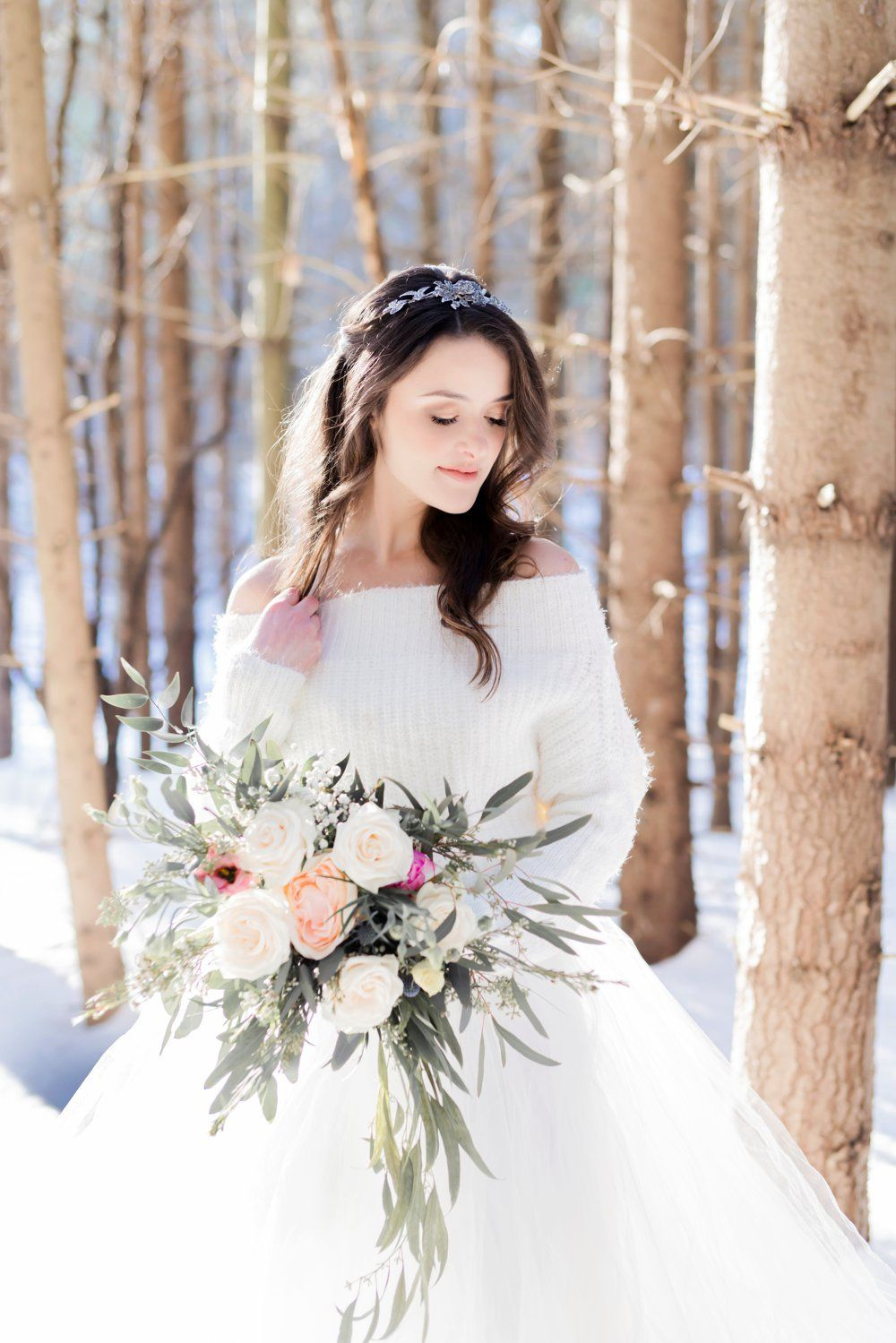 Winter Princess Wedding Inspiration In The Snow A Princess Inspired Blog Winter Christmas Wedding Dresses Fairy Tale Wedding Dress Winter Wedding Dress Lace [ 1499 x 1000 Pixel ]