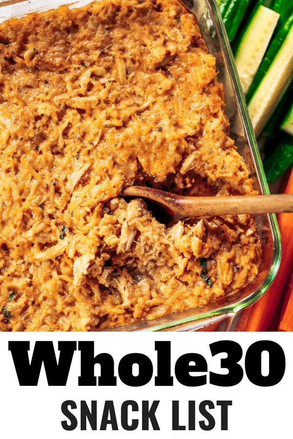 Best Whole30 Snack List images