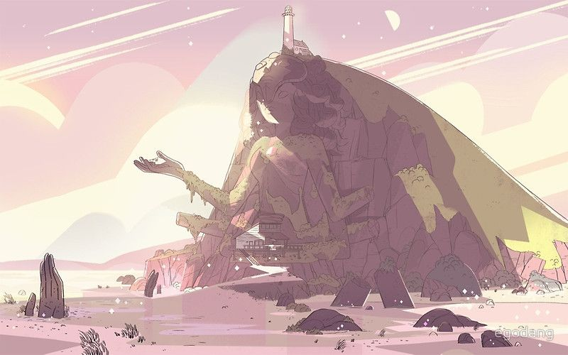 Crystal Temple Steven Universe! by egodang Steven