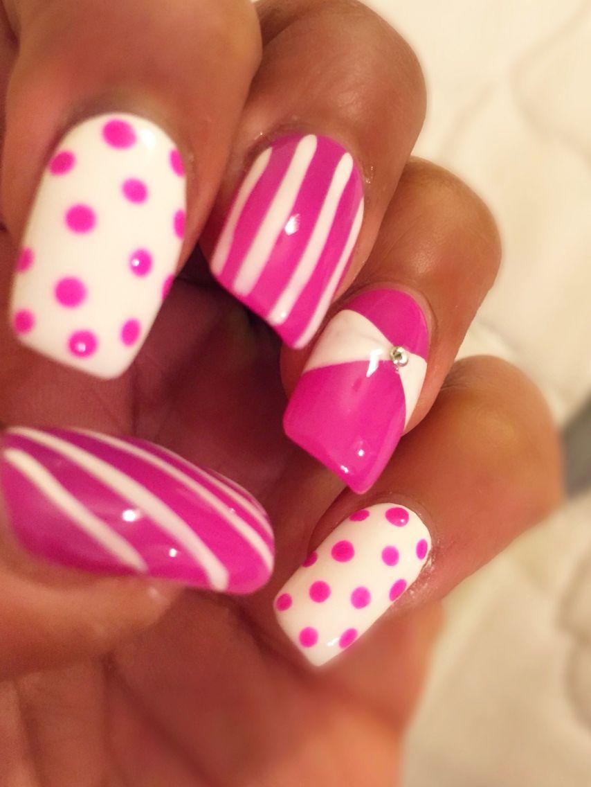 Nails like sweeties #pink