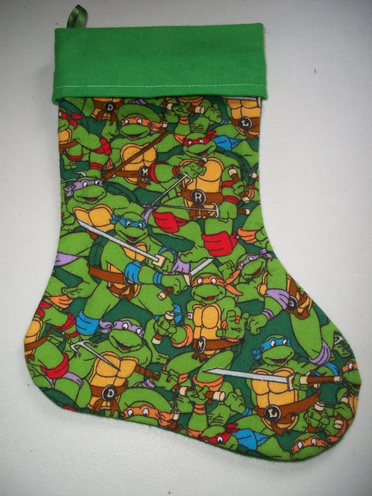 Teenage Mutant Ninja Turtles Novelty Christmas Stocking (446 ...