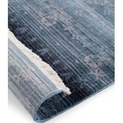 Photo of benuta Trends Teppich Safira Blau 160×235 cm – Vintage Teppich im Used-Look