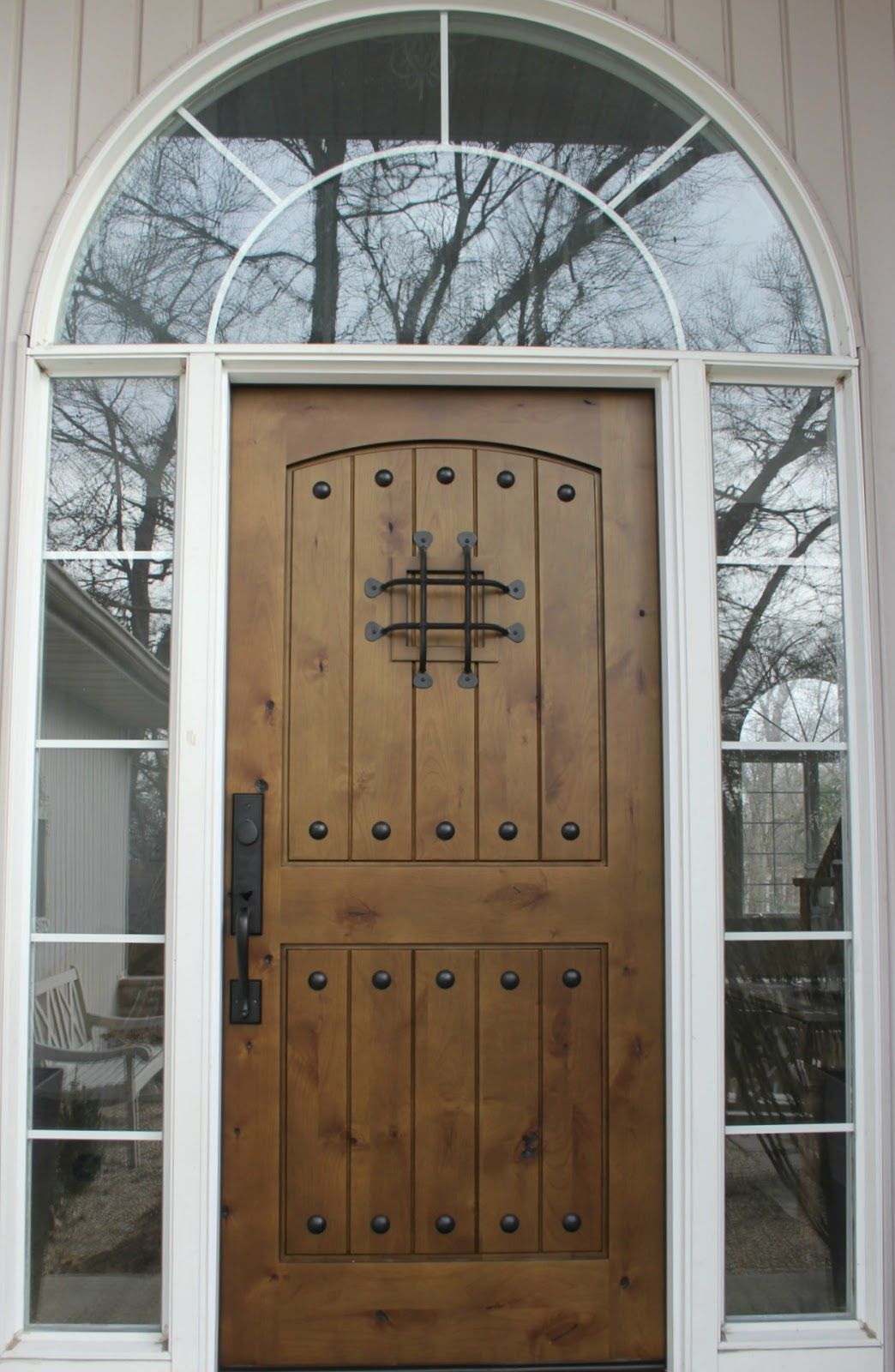 Personal Reflections: FRESH | Knotty alder, Doors and Front doors