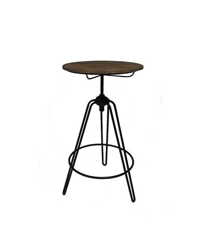 table haute tabouret de bar