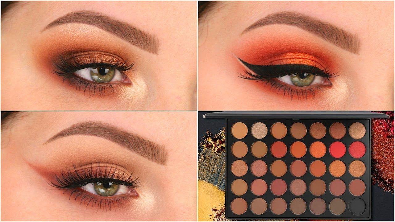 3 Looks 1 Palette | Morphe 35O2 | Makeup morphe, Eyeshadow ...