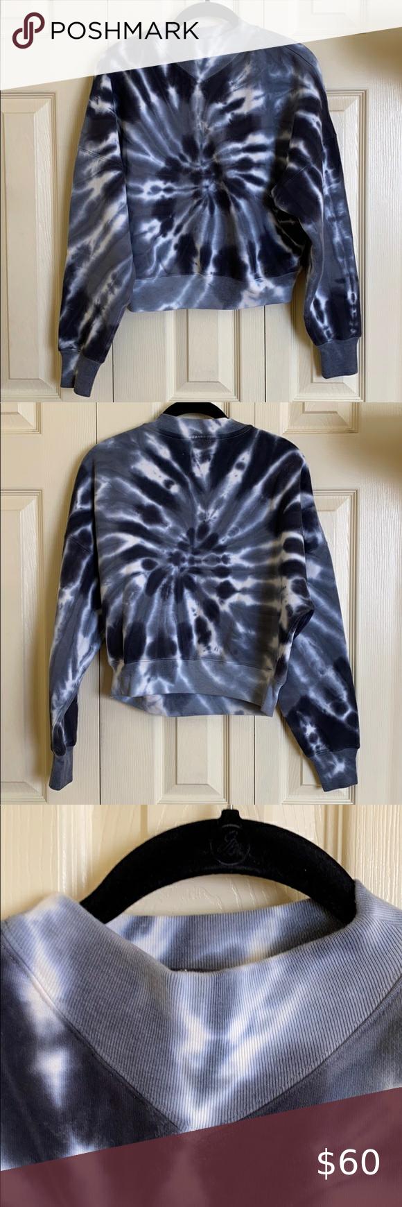 Aritzia Wilfred Free Katy Sweater Cropped Wool Sweater Tie Dye Sweater Jeans And Sneakers [ 1740 x 580 Pixel ]