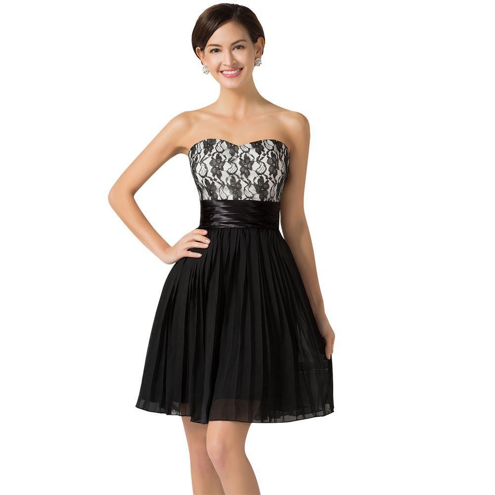 Vestido de fiesta en color negro