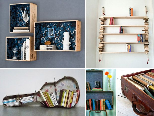 Idee originali per una libreria fa i da te rubriche for Idee originali per la casa
