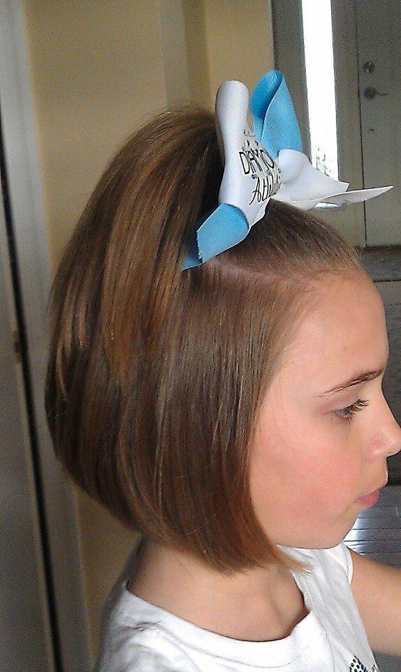 Sensational Cheer Bob Hair And Makeup Done By Me Pinterest Bobs And Cheer Short Hairstyles Gunalazisus