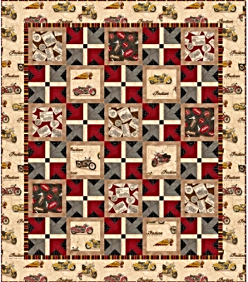 Classic Indian Motorcycle Fabric Collection from Quilting ... : motorcycle quilting fabric - Adamdwight.com