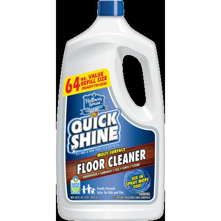 Quick Shine Multi Surface Floor Cleaner 64 Oz Floor Finishes