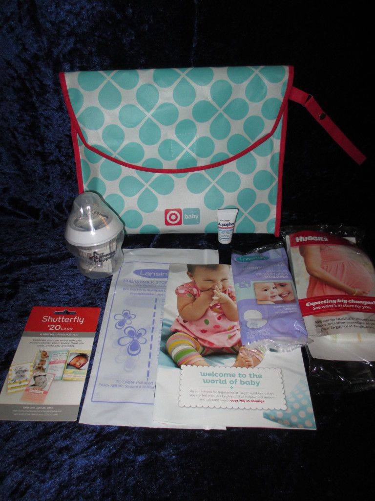 Did You Get Your Free Target Baby Registry Gift Bag It Has