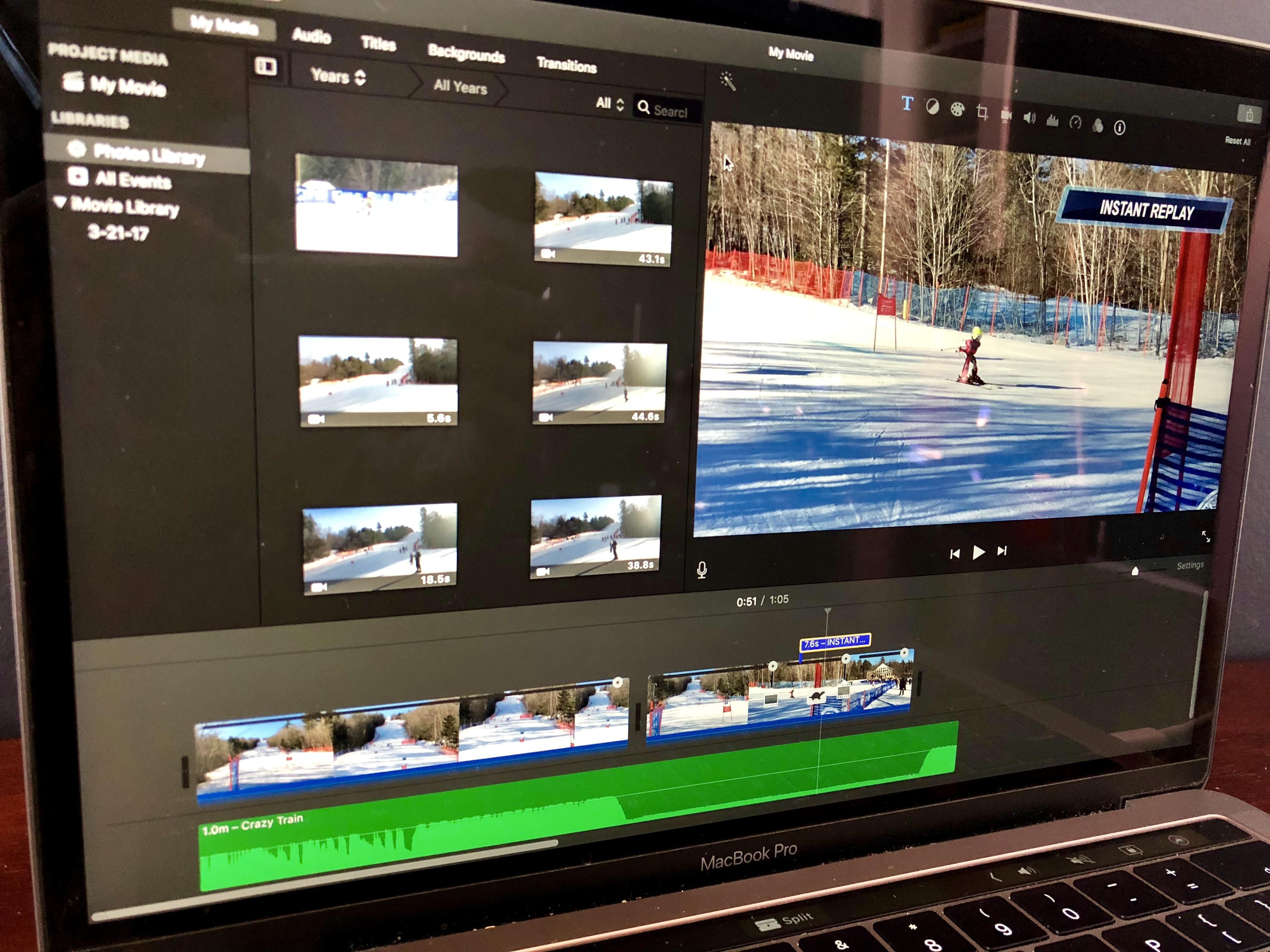 how to add audio voiceover to imovie