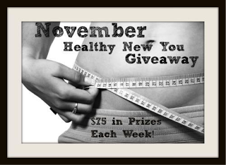 Healthy New You Week 2 Giveaway