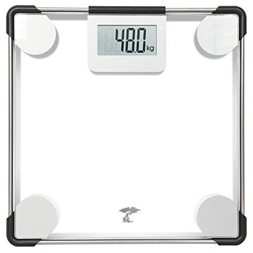 Precision Digital Clear Glass Bathroom Scale 400lbs Capacity Lifetime Guarantee You Can Get More Details Glass Bathroom Bathroom Scale Best Bathroom Scale