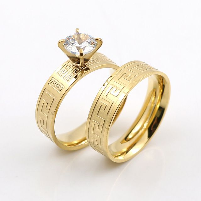 for wedding buying yellow in yeallow edge antique floral guide ring traditional rings gold knife