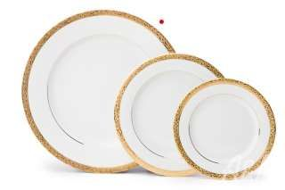 Catalogue - A Partytime Rentals. gold filigree plates