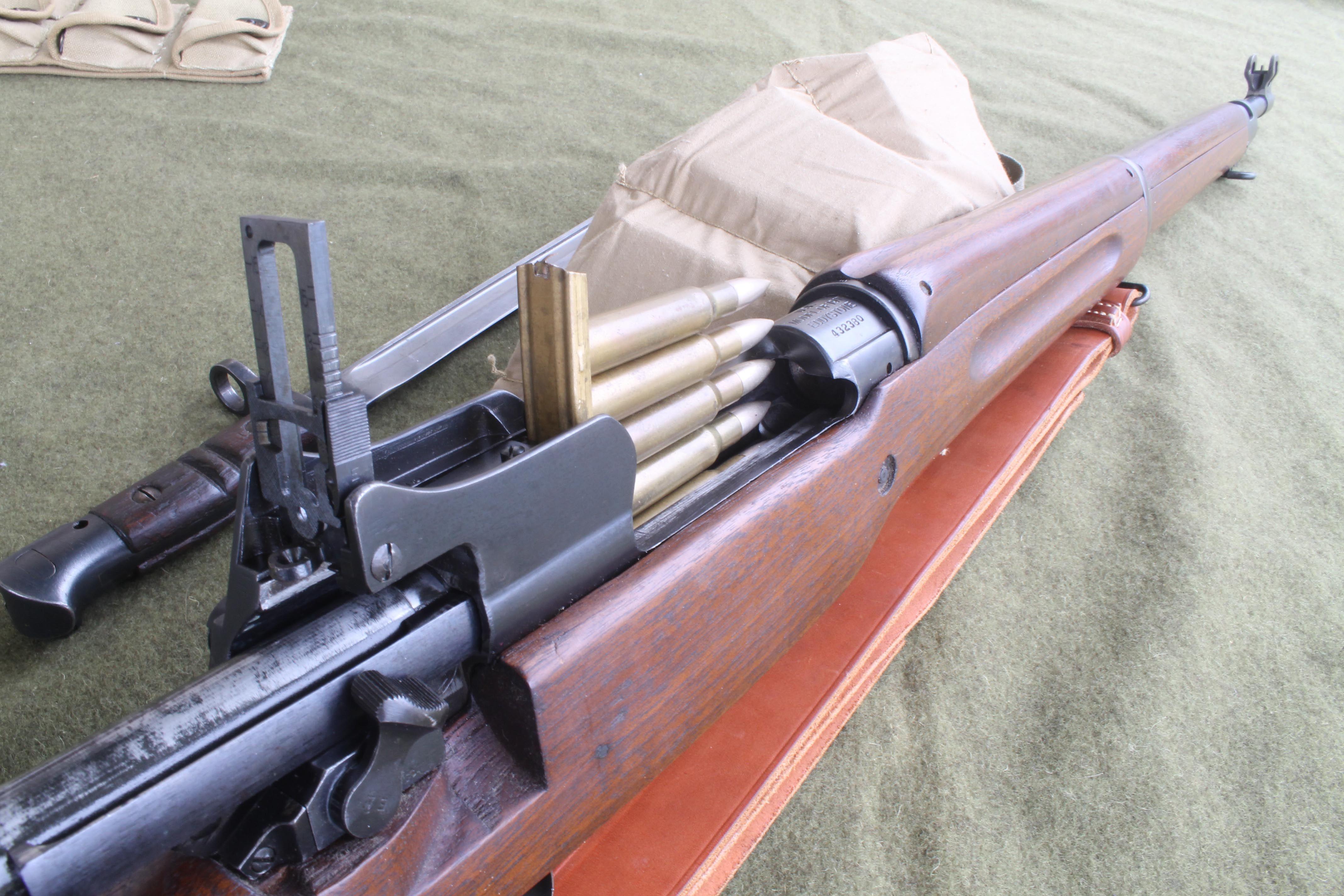 Eddystone M1917 Enfield Lee Enfield Firearms Rifles Ww2 Tanks Weapons