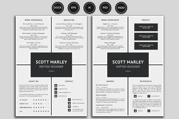Unique Resume Templates Brilliant Resumecv  Scott Creativework247  Resume Templates  Pinterest Decorating Inspiration