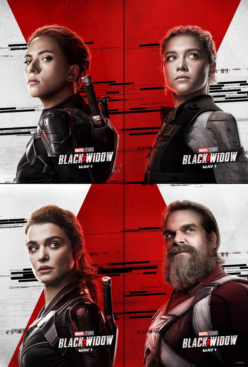 Character Posters For Marvel Studios Black Widow Are Here Black Widow Movie Black Widow Marvel Black Widow Film