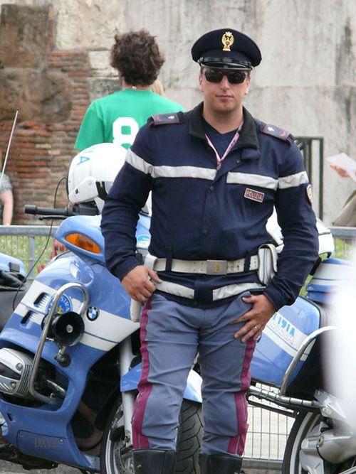 Polizia Italian Police P051 Men In Polices Hot Cops