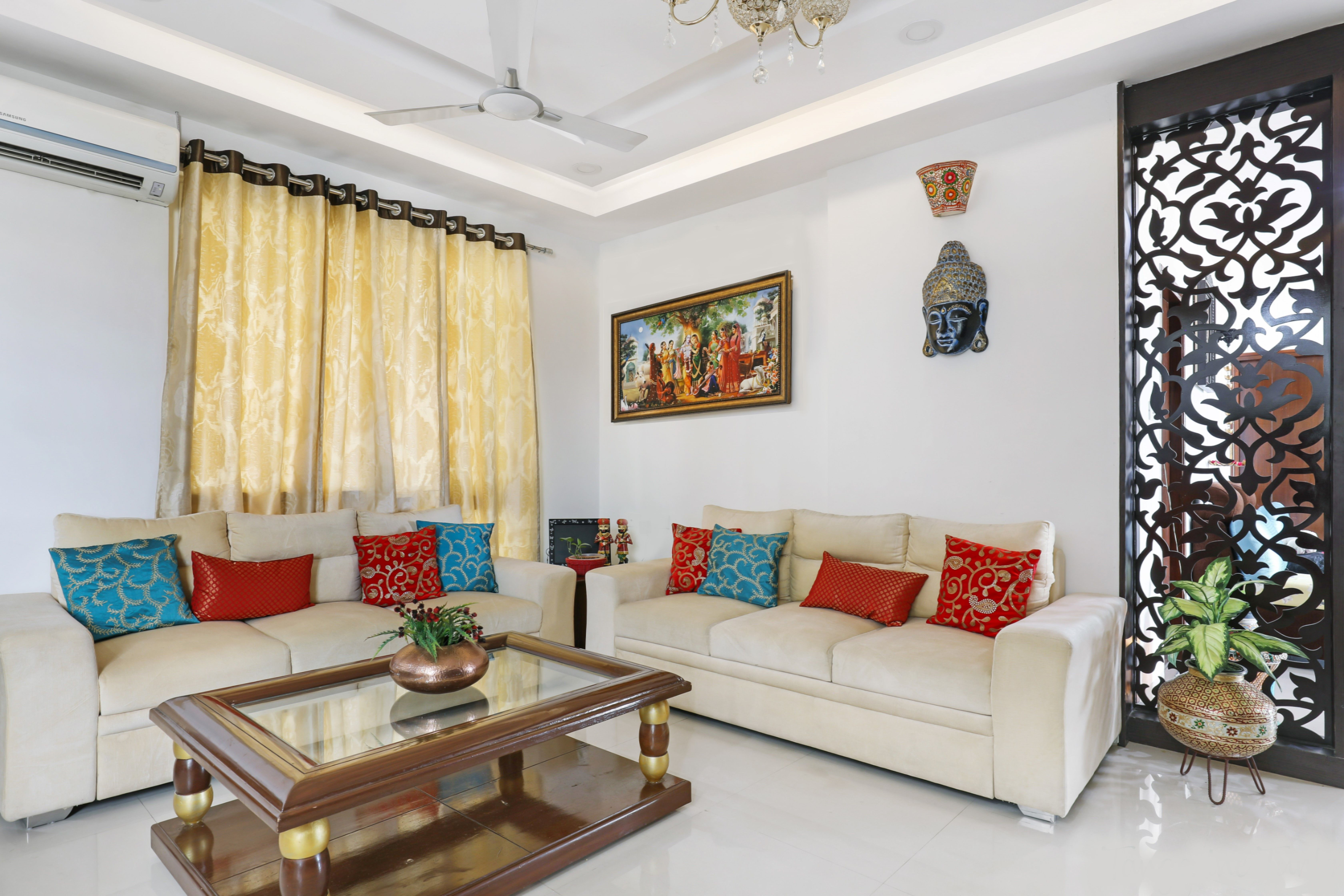 this hyderabad apartment is a delicious blend of indian