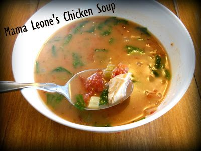 Mama leones chicken soup hungry for great food pinterest mama leones chicken soup forumfinder Images