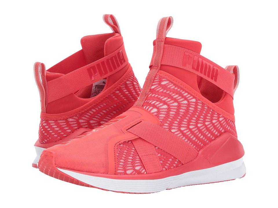 PUMA PUMA - FIERCE STRAP SWIRL (POPPY RED PUMA WHITE) WOMEN S SHOES.  puma   shoes   a6a5d306ea