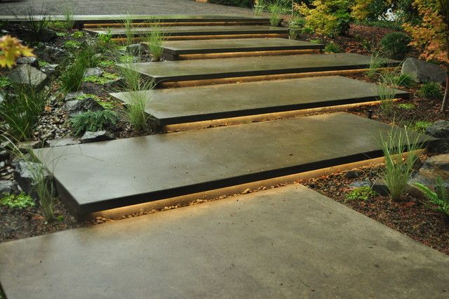 Delicieux Image Result For Exterior Mid Century Modern Stair Concrete Steps, Concrete  Porch, Modern Stairs