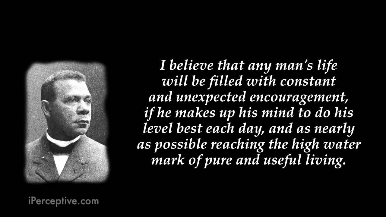 Booker T Washington Quotes Booker Twashington  Top 10 Quotes  Youtube  Quotes  Pinterest