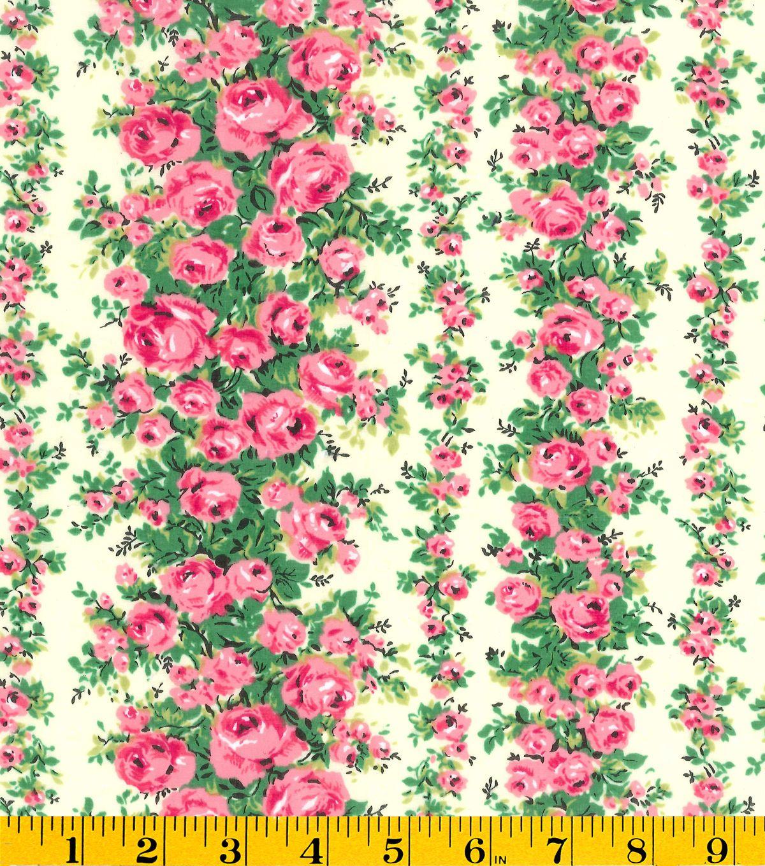 gertie collection fabrics swiss dot rose garden pink curtains