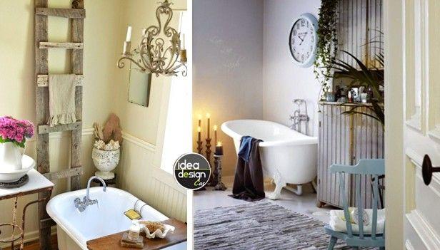 Bagno Vintage: 18 bagni stile chic Vintage! | Architecture & Home ...