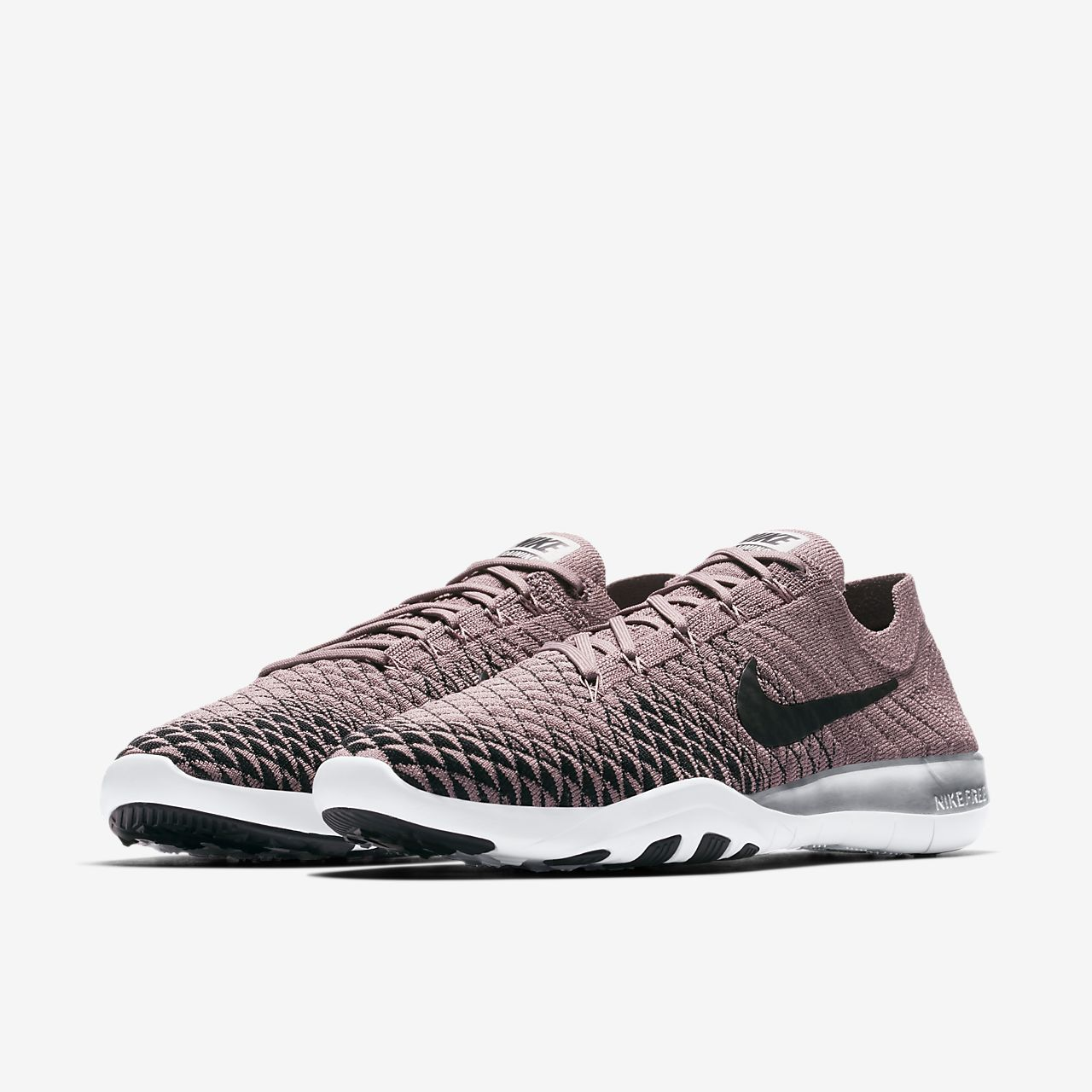 Nike Free TR Flyknit 2 Chrome Blush Women s Training Shoe  1c009f57a