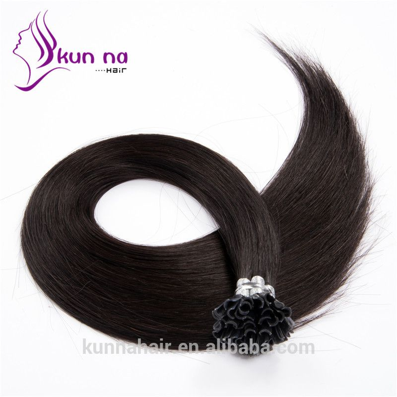 2017 New Arrival 1 Jet Black Human Hair Factory Wholesale Nail U