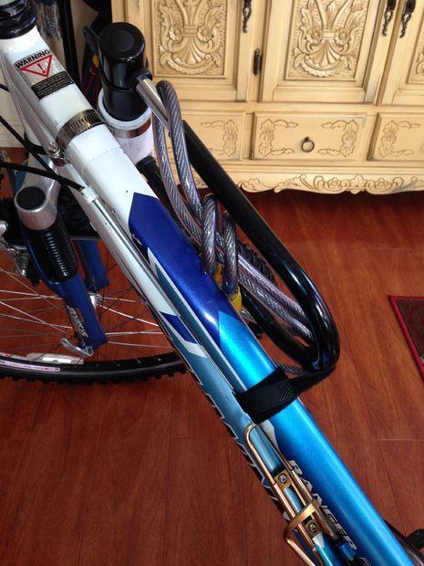 Mount A U Lock On Women S Bike Frame Bike Frame Womens Bike Bike