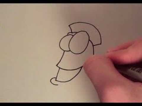 How to Draw a Cartoon Fish - YouTube