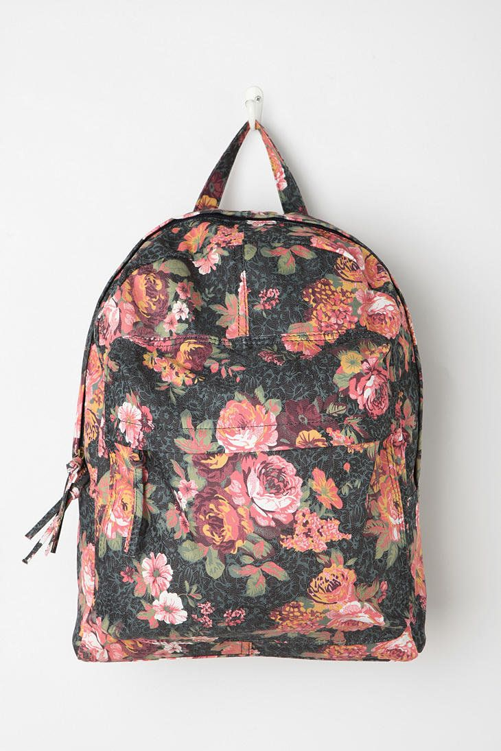 Urban Outfitters - BDG Flora Adorned Backpack