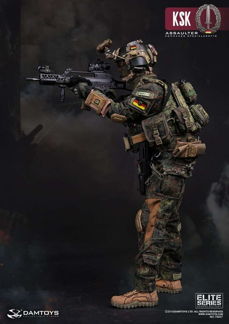 Dam Toys Ksk Kommando Spezialkrafte Assaulter Military Action Figures Military Figures Special Forces