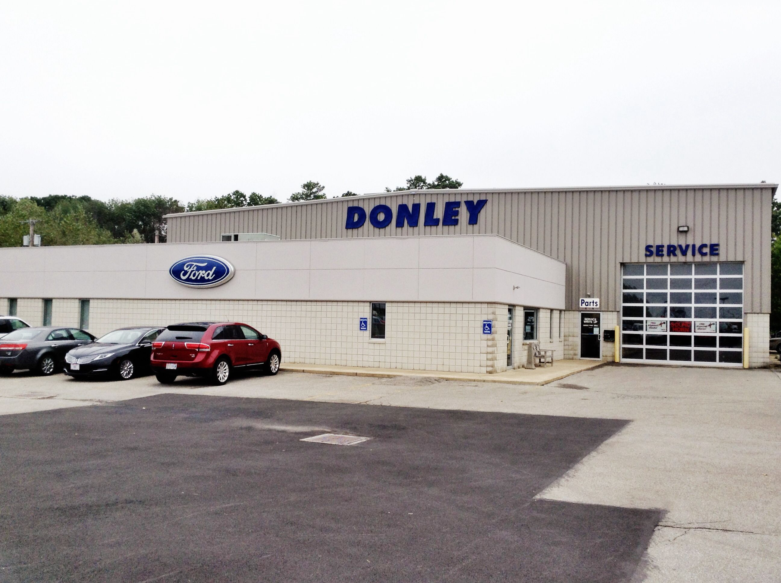 The Service And Marketing Departments At Donley Ford Lincoln Inc
