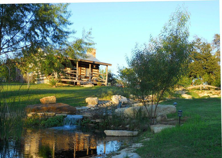 barons creekside offering guests the wonder of water and wildlife rh pinterest com romantic cabin in texas hill country romantic cottages in fredericksburg texas