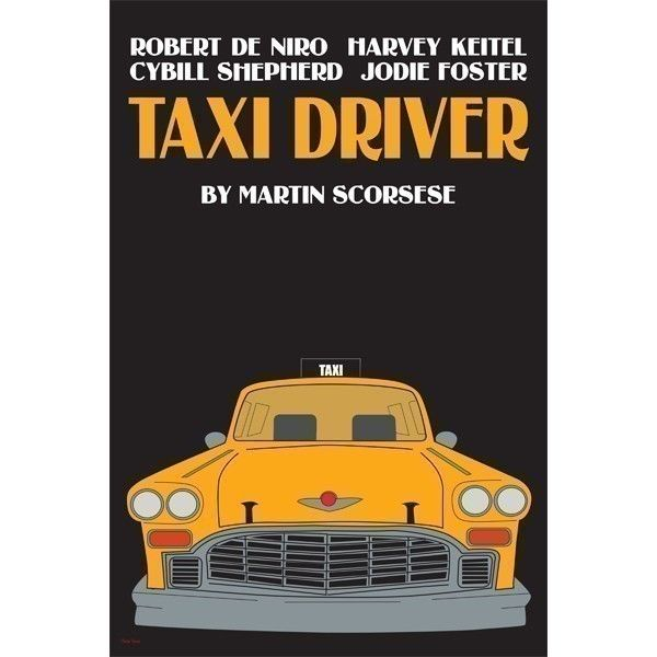 Taxi Driver 12x18 inches movie poster by claudiavarosio on Etsy