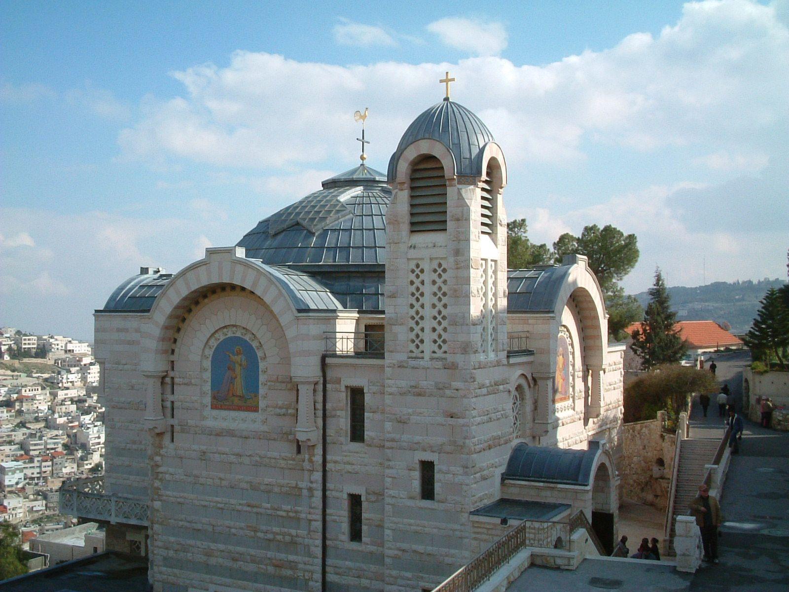 Church of Saint Peter in Gallicantu Jerusalem, Israel