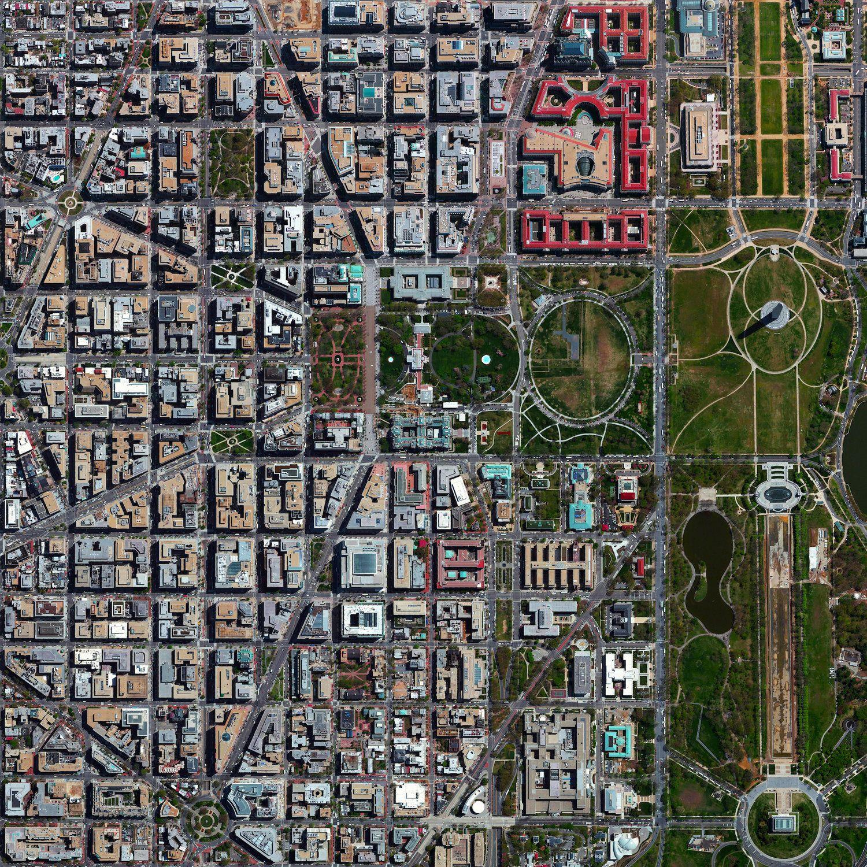 Washington, D.C. Satellite image selected by Benjamin ...